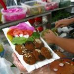 falafel na talerzu