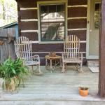 Porch of our cabin