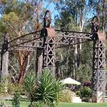 Part of the old Balranald bridge is set within the park.