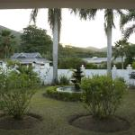 the quaint white guest house