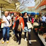 Spazieren durch das Marktleben!