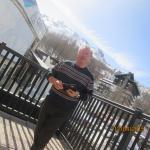Sandro sul terrazzo