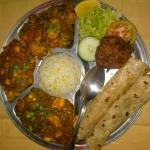 Lovely vegetarian thali