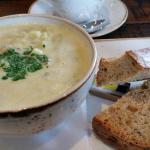 Cullen Skink soup. Yum yum!