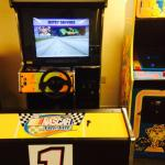 Arcade game that eats quarters without letting you play it.