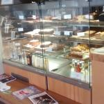 What a selection of cakes and goodies
