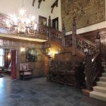 awesome entrance hall   (half of the agecroft hall staircase)