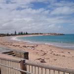 Beach view left