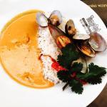 Vindaloo de frutos do mar