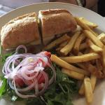 Pollo panino...chicken sandwich