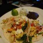 Shrimp & Egg Tacos