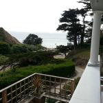 view of Pacific from front porch