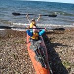 lejos la mejor excursión, visita a una lobería en cayak a mar abierto