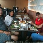 Lunch with Balikbayan cousins from Paris & London