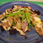 Smoked mackerel and beetroot salad