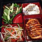 Teriyaki bento box - great for a quick lunch