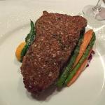 Blue Cheese Herb Crusted New York Steak