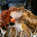 Плата с морепродуктами