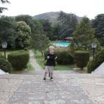 La Pileta y el parque del hotel Libertador!