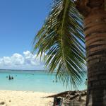 vue d'une des belles plages de St François