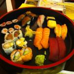 then the sushi