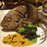 The crispy whole snapper