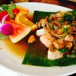 Seafood dish, nr 8 in the Menu