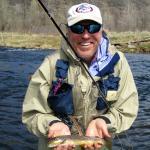 Happy Fly Fisherman