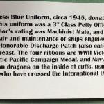 Description posted of uniform