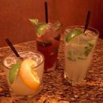Margaritas for the ladies.