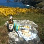 Lunch from the Boscastle Fishing Co