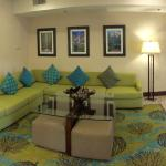 Cool lobby area, newly renovated.