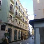 En el segundo piso de esta esquina está el hotel