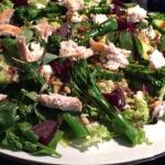 The superfood salad with Chicken. Massive dish, don't bother with a starter!