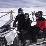 Snowmobiling with NOVA guides