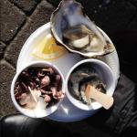 Jellied Eel, Baby Octopus and Best Quality Raw Oysters