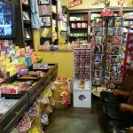 Candy everywhere! They have it all.