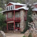 The historic Black Range Lodge has hosted visitors since the 1880s.