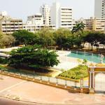 Vista desde la terraza al centro de convenciones