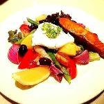 smoked salmon salad 350++