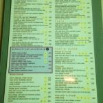 Speacail menu