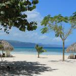La plage du Punta Rucia Lodge