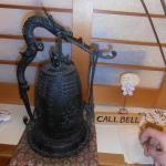 The reception call bell