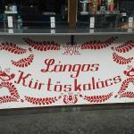 Retró Lángos Budapest fényképe