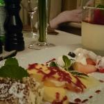 Dessert mit unter anderem Mascarpone