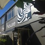 The House of Zebra cafe.