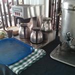 café gratis :D. aunque no es todo el día :'(