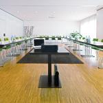 Besprechungs- und Tagungsräume sind zwischen 18 m² und 200 m² groß