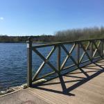 The pretty walk round the lake