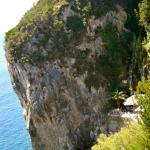 Can;t believe there is a bar in that cliff.